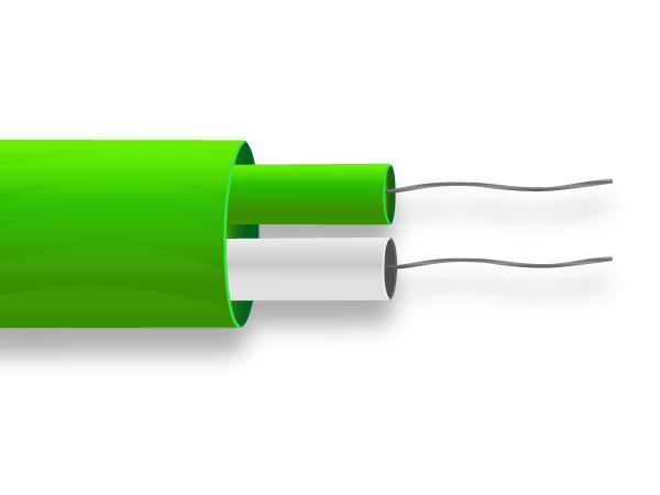 PFA flach paar Thermoelement Kabel / Draht-IEC