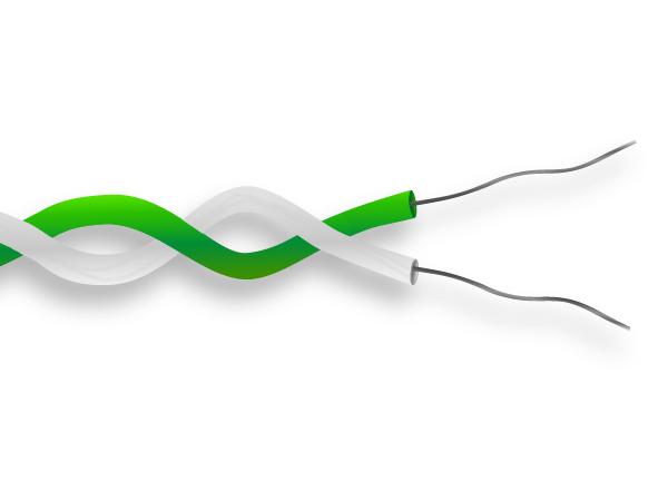 PTFE isoliert Thermoelement Kabel / Draht-IEC - IEC (Europäischen ...