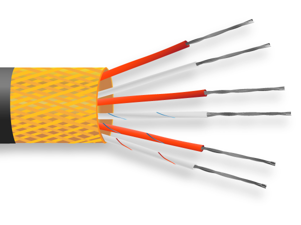 PRT-Sensor-Kabel / Draht