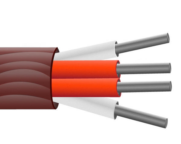 Gerundet Abschnitt PRT Sensorkabel / Draht