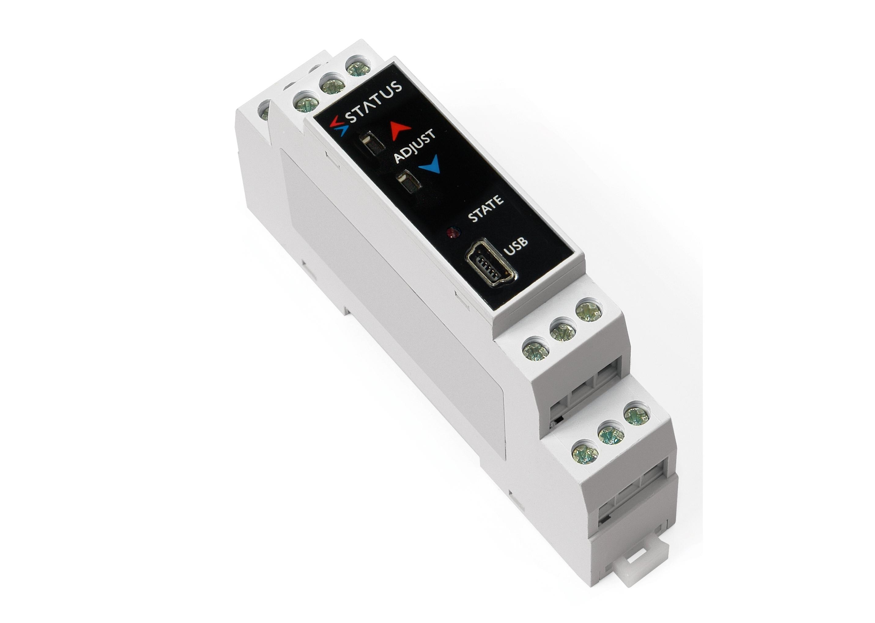 Drücken Sie SEM213P Schaltfläche Pt100 DIN Schiene Temperatur-transmitter