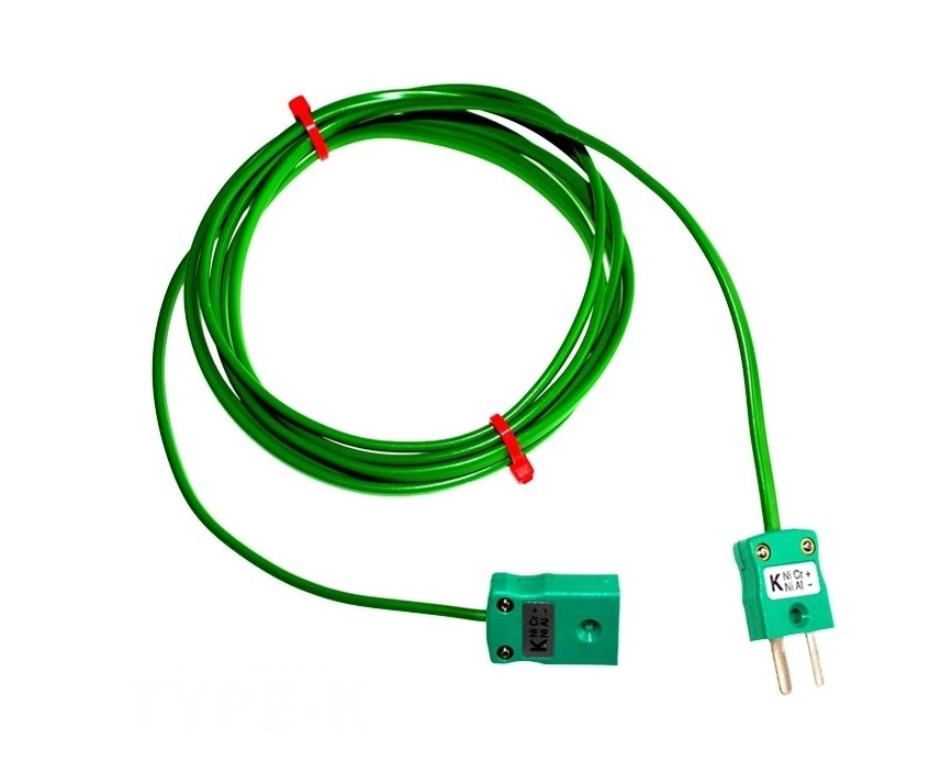 PVC insulated Cable / Wire with MINIATURE Thermocouple Plugs & Sockets IEC
