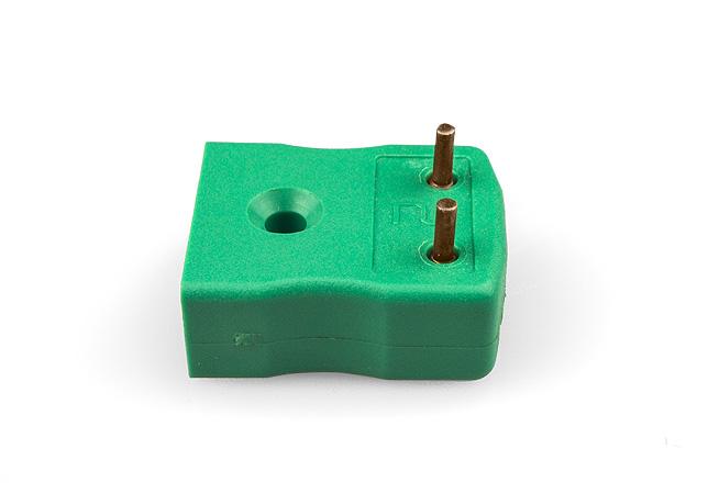 PCB-Montage Thermoelement-Buchse IEC mit Messing oder Zinn versilbert Pins