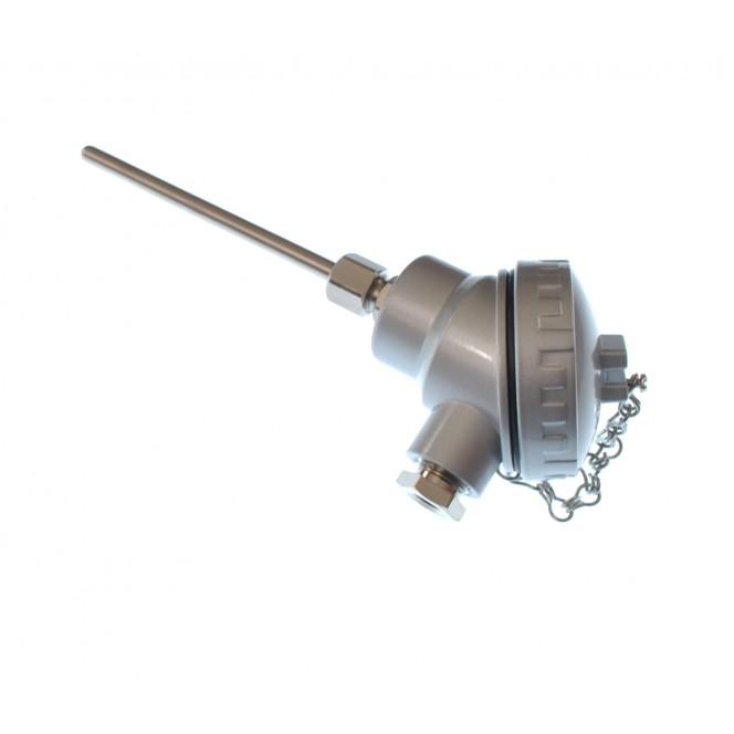 PT100 4 Draht Klasse B Widerstandsthermometer, kompakte KNS Kopf mit ...