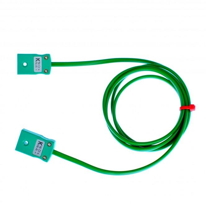 Typ K PVC Verlängerungskabel mit Miniatur-Stecker oder Steckdosen (IEC)