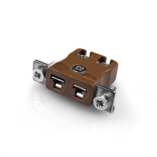 Miniatur Quick-Wire Panel Mount Thermoelement Steckverbinder mit ...