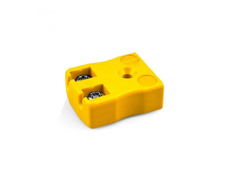 Miniatur schnelle Thermoelement Stecker Buchse AM K FQ Drahttyp K ANSI