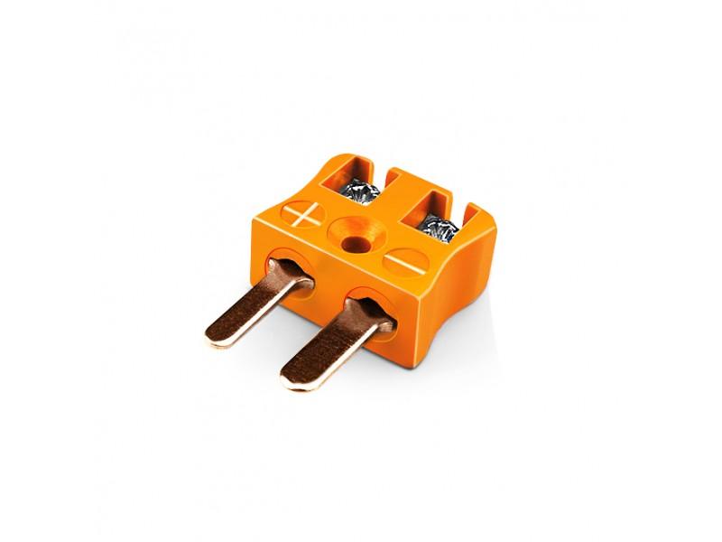 Miniatur Quick-Wire Stecker Thermoelement Stecker IM-R/S-MQ Typ R/S IEC