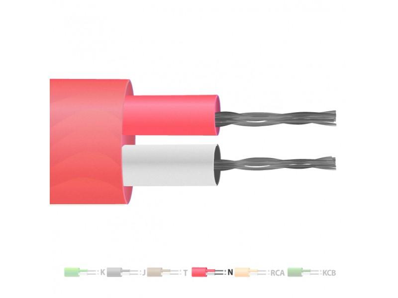 Typ N PVC isolierten Flachkabel paar Thermoelement / Wire (IEC)
