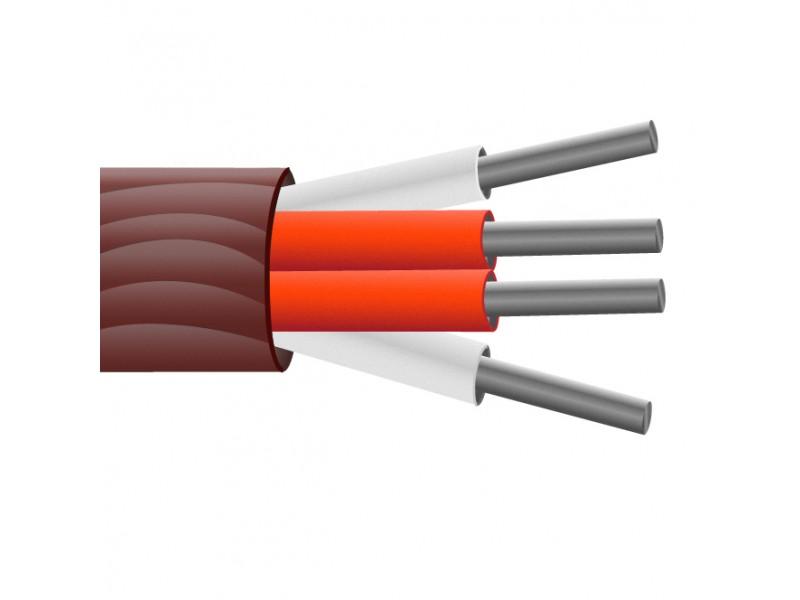 4-Kern-Silikon-Kautschuk isoliert, Abschnitt, PRT Sensorkabel gerundet / Wire