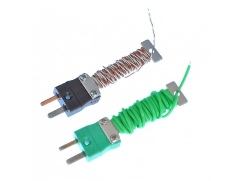 Kabel ordentlich Thermoelement mit montierten Miniatur-IEC-Stecker ...