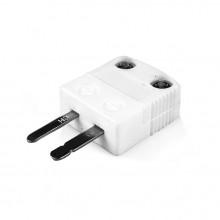 Miniatur Hochtemperatur (650° C) Keramik Thermoelement Stecker AM-K-M-HTC Typ K ANSI