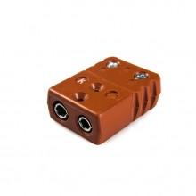 Hochtemperatur Standard Thermoelement Stecker Buchse STC-R/S-F-HTP Typ R/S