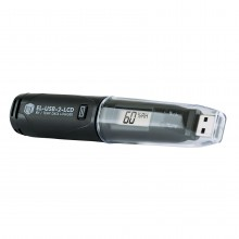 EL-USB-2-LCD - Temperatur & RH Datenlogger mit USB und Display