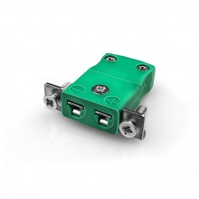 Miniatur paneelverbinder Mount Thermoelement mit Edelstahl Halterung IM K SSPF Typ K-IEC