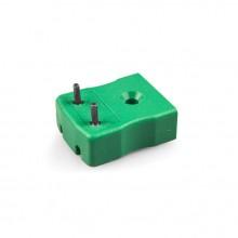 PCB Befestigungstyp Thermoelement Stecker Buchse IM-K-PCB K IEC mit Zinn versilbert Pins
