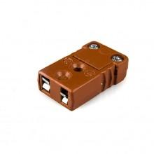 Hohe Temperatur Miniatur Thermoelement Stecker Buchse MTC-K-F-HTP Typ K