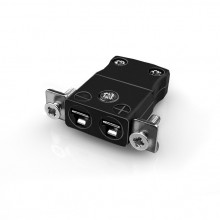 Miniatur paneelverbinder Mount Thermoelement mit Edelstahl Halterung IM-J-SSPF Typ J IEC