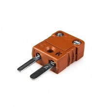 Hohe Temperatur Miniatur Thermoelement Stecker Stecker MTC-J-M-HTP-Typ J