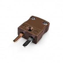 Miniatur Thermoelement Stecker Stecker IM-T-M-Typ T IEC