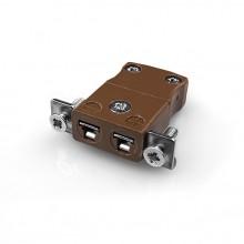 Miniatur paneelverbinder Mount Thermoelement mit Edelstahl Halterung IM T SSPF Typ T IEC