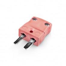 Miniatur Thermoelement Stecker-Stecker IM-N-M Typ N IEC