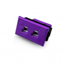 Miniatur rechteckige Thermoelement Steckverbinder Faszie IM E FF Sockeltyp E IEC