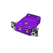 Miniatur paneelverbinder Mount Thermoelement mit Edelstahl Halterung IM E SSPF Typ E IEC