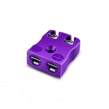 Miniatur schnelle Thermoelement Stecker Buchse IM-E-FQ Drahttyp E IEC