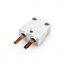 Miniatur Thermoelement Stecker-Stecker GADEYNE-CU-M Typ Cu