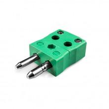 Standard schnell Thermoelement Steckverbinder Stecker ist K-MQ Drahttyp K IEC