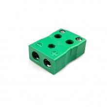 Standard schnell Thermoelement Stecker Buchse ist K FQ Drahttyp K IEC