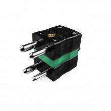 Standard-Thermoelement Anschlusstyp Duplex Stecker ist-K-MD-K-IEC