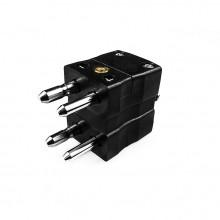 Standard-Thermoelement Anschlusstyp Duplex Stecker ist J MD-J IEC