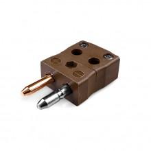 Standard schnell Thermoelement Steckverbinder Stecker ist-T-MQ Drahttyp T IEC