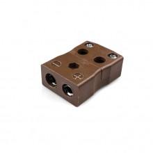Standard schnell Thermoelement Stecker Buchse ist T FQ Drahttyp T IEC