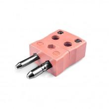 Standard schnell Thermoelement Steckverbinder Stecker ist-N-MQ Drahttyp N IEC