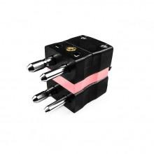 Standard-Thermoelement Anschlusstyp Duplex Stecker ist-N-MD-N IEC