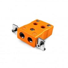 Standard-Quick-Wire Panel Mount mit Edelstahl Halterung AS-N-SSPFQ Typ N ANSI