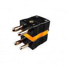 Standard-Thermoelement Stecker Duplex Stecker ist-R/S-MD Typ R/S IEC