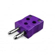 Standard-Quick-Wire Thermoelement Steckverbinder ist E-MQ Steckertyp E IEC