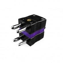 Standard-Thermoelement Anschlusstyp Duplex Stecker ist E-MD-E IEC