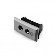Standard rechteckig Thermoelement Steckverbinder Faszie Socket ist B FF Typ B IEC