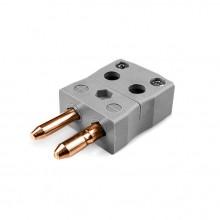 Standard-Quick-Wire Thermoelement Steckverbinder ist B-MQ-Stecker Typ B IEC
