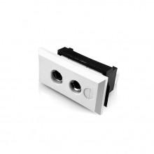 Standard rechteckig Thermoelement Steckverbinder Faszie Socket FSTC-CU-FF Typ Cu