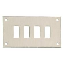 Platten für Standard Faszie Steckdosen (Typ FF)