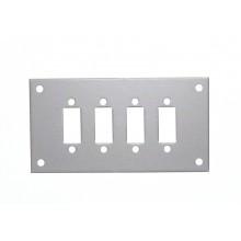 Platten für Standard Edelstahl Faszie Sockets (SSPF)