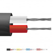 Typ J-PVC isolierten Flachkabel paar Thermoelement / Wire (ANSI)
