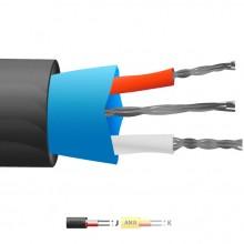 Typ J-PVC isolierte Mylar Thermoelement Kabel geschirmt / Wire (ANSI)