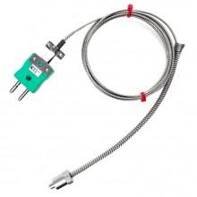 Einstellbare Bajonett Thermoelement Typ K oder J IEC